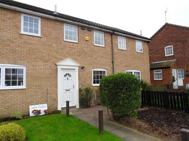 2 Bedrooms Terraced House for sale in Kestrel Way, Birds Estate