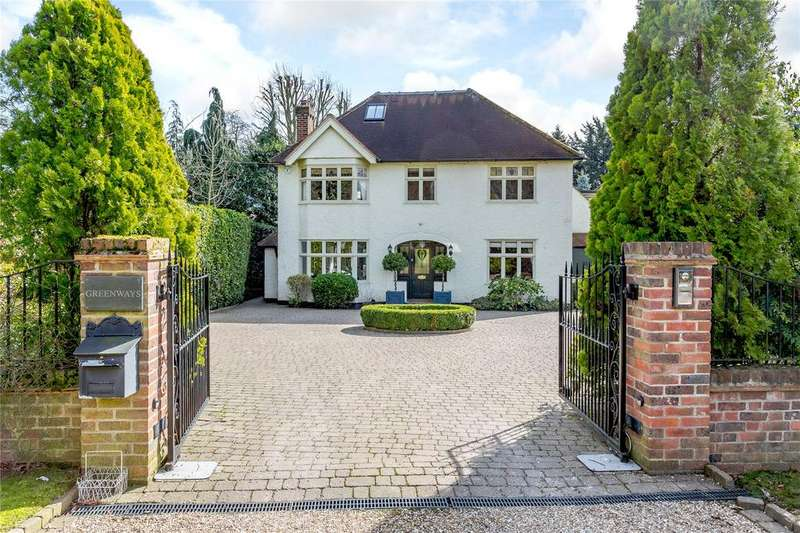 5 Bedrooms Detached House for sale in Birklands Lane, St. Albans, Hertfordshire, AL1