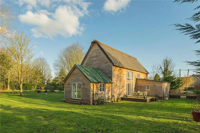 4 Bedrooms Detached House for sale in Angle Lane, Shepreth, Royston, Hertfordshire, SG8