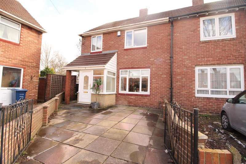 3 Bedrooms Semi Detached House for sale in Birkdale Close, Fairways Estate, Newcastle Upon Tyne