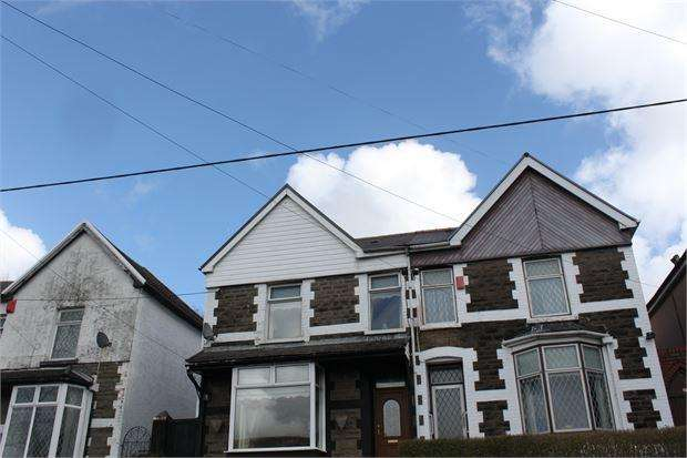3 Bedrooms Semi Detached House for sale in The Parade, Porth, CF39 9TB
