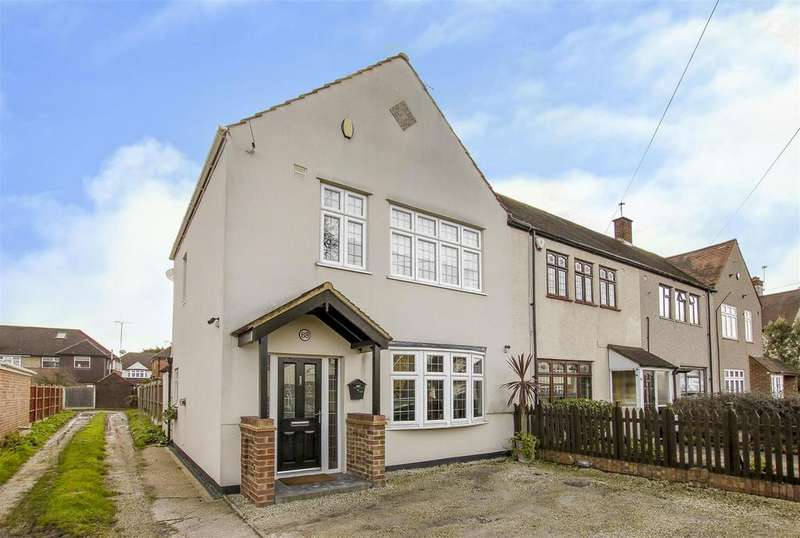 3 Bedrooms Semi Detached House for sale in Moor Lane, Upminster