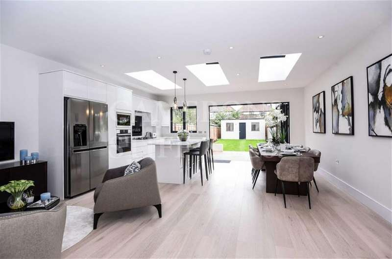 4 Bedrooms Terraced House for sale in Hanover Road, Kensal Rise, London, NW10
