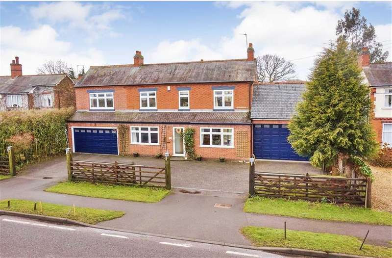 5 Bedrooms Detached House for sale in Newbold Verdon