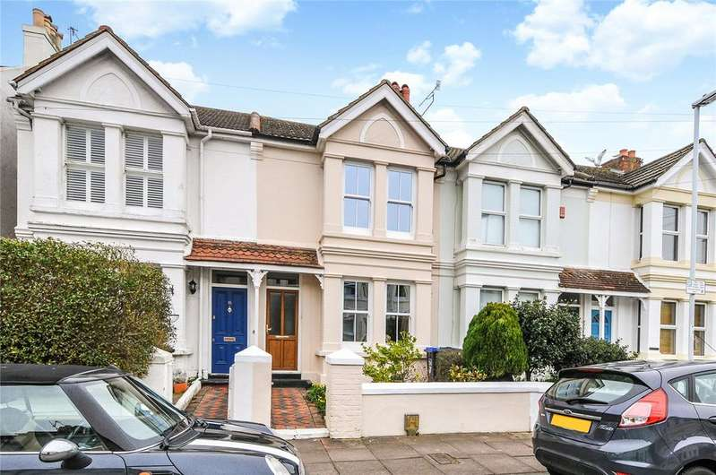 3 Bedrooms Terraced House for sale in Gordon Road, Worthing, West Sussex, BN11