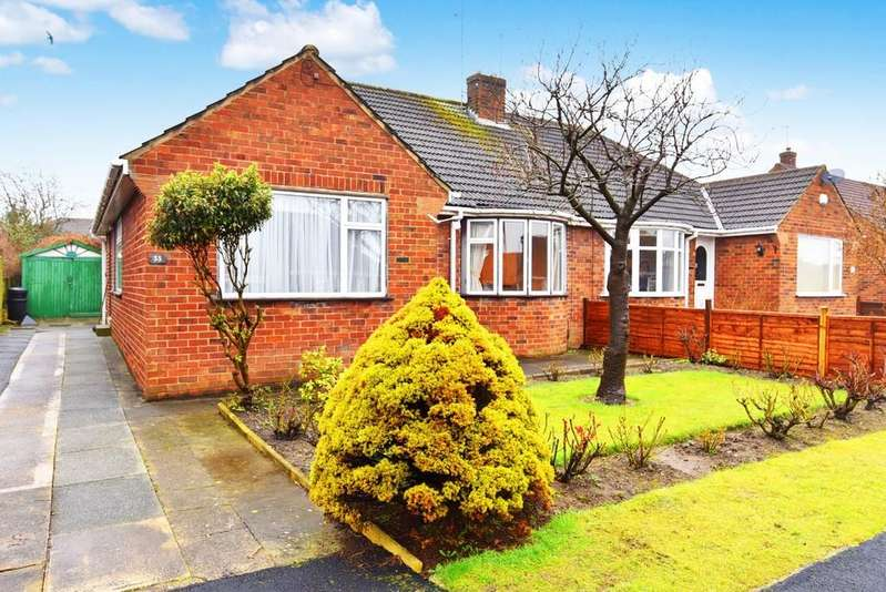 3 Bedrooms Semi Detached Bungalow for sale in Rydal Road, Harrogate