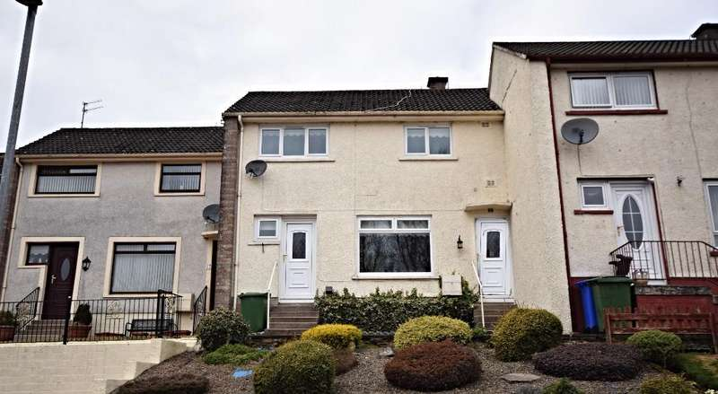 2 Bedrooms Terraced House for sale in Roderick Lawson , Maybole , South Ayrshire, KA19 7AR