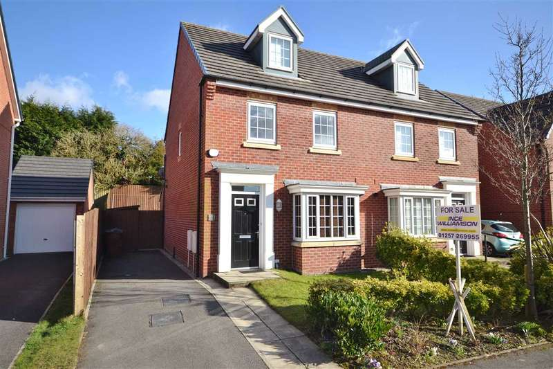 3 Bedrooms Semi Detached House for sale in Triumph Avenue, Chorley
