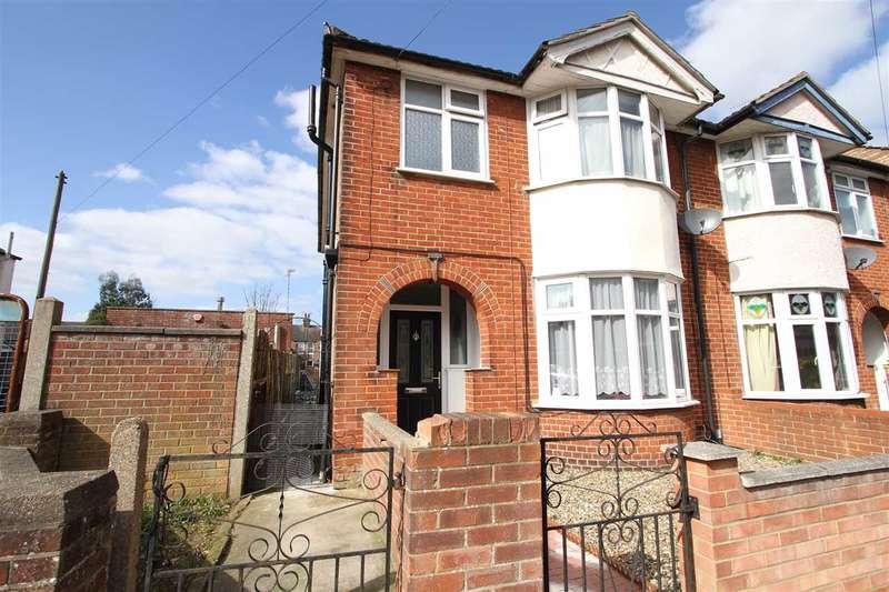 3 Bedrooms Semi Detached House for sale in Schreiber Road, Ipswich