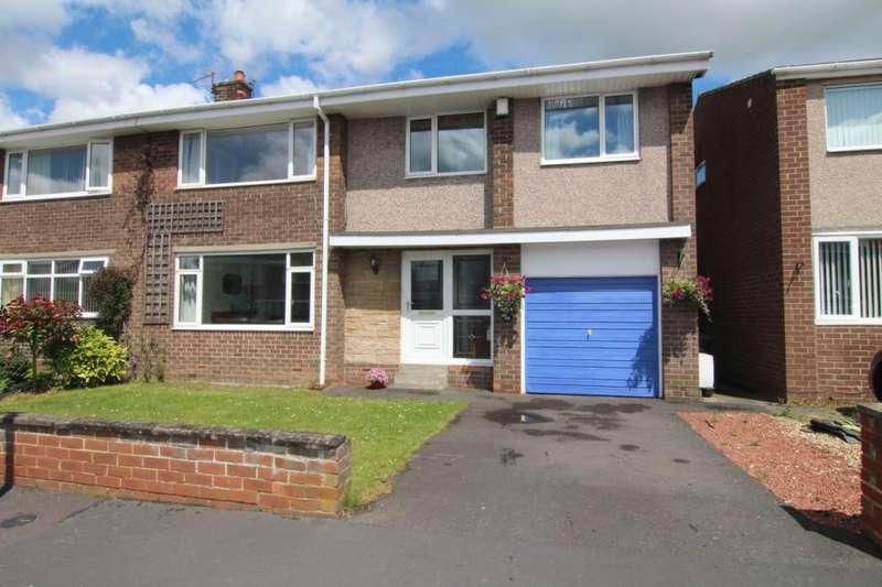 5 Bedrooms Semi Detached House for sale in Rowan Tree Avenue, Gilesgate, Durham, DH1