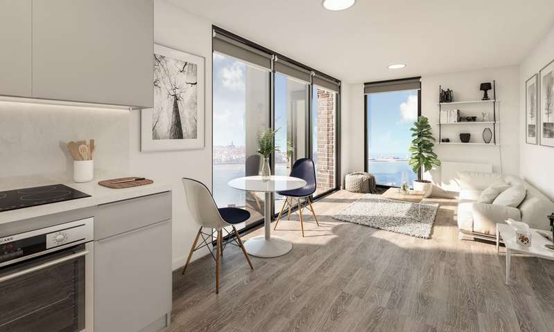 1 Bedroom Apartment Flat for sale in Waterfront Development, Liverpool L3