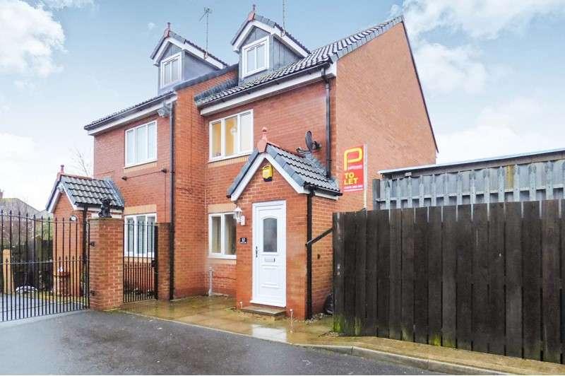 3 Bedrooms Property for rent in Jubilee Mews, Bedlington, Northumberland, NE22 5BL