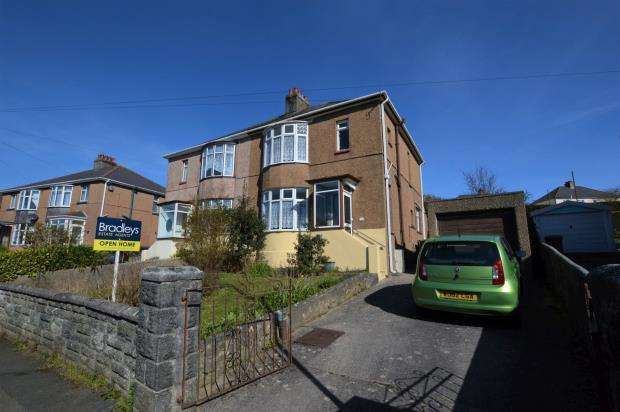 3 Bedrooms Semi Detached House for sale in Oakfield Road, Plymouth, Devon