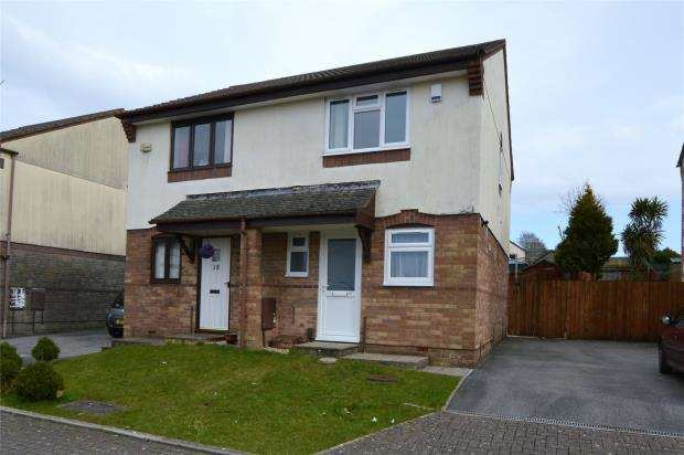2 Bedrooms Semi Detached House for rent in Larch Close, Latchbrook, Saltash, Cornwall
