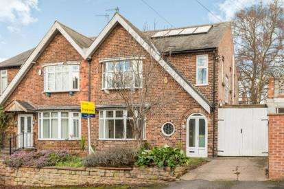4 Bedrooms Semi Detached House for sale in Shirley Road, Nottingham, Nottinghamshire