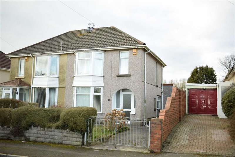 3 Bedrooms Semi Detached House for sale in Pentyla Road, Cockett