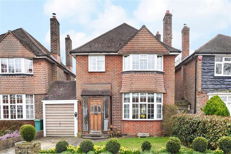 3 Bedrooms Detached House for sale in Orpin Road, Merstham RH1 3EZ