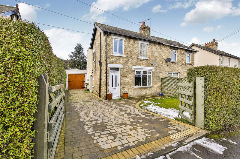 2 Bedrooms Semi Detached House for sale in The Crescent, Rowlands Gill, NE39
