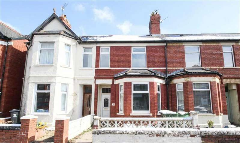 3 Bedrooms Terraced House for sale in Ty-Mawr Road, Llandaff North, Cardiff