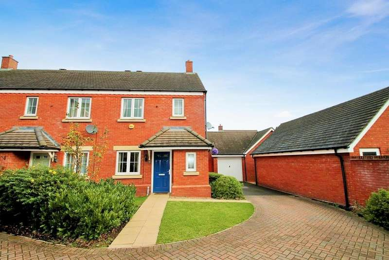3 Bedrooms Terraced House for sale in Alamein Way, Lichfield