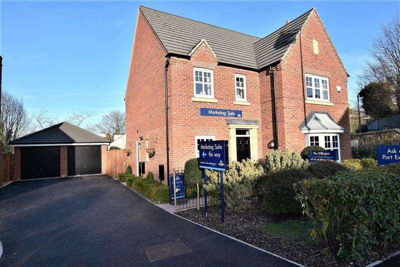 4 Bedrooms Detached House for sale in Plot 54 'The Willington Special', Davenshaw Drive, Congleton