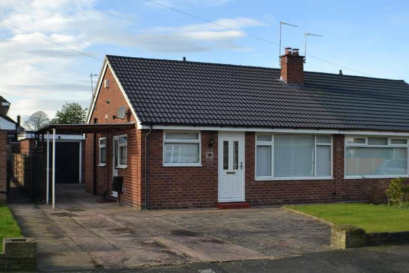 2 Bedrooms Semi Detached Bungalow for sale in Eastgate Road, Holmes Chapel