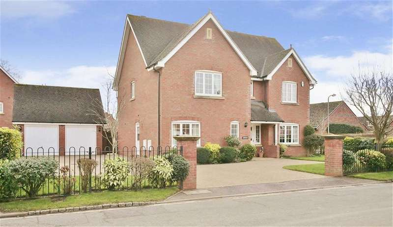 5 Bedrooms Detached House for sale in Molyneux Drive, Bodicote
