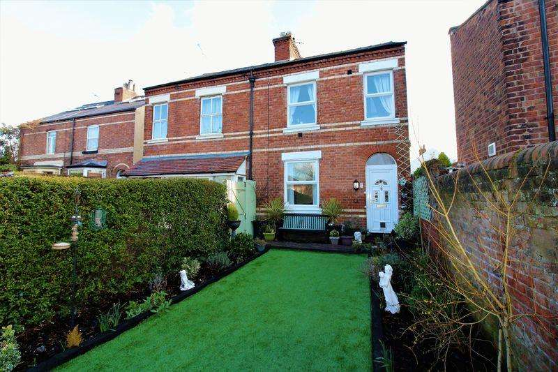 3 Bedrooms Semi Detached House for sale in Cambrian Villas, Garden Lane, Chester