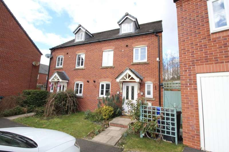 3 Bedrooms Semi Detached House for sale in The Green, Hyde, SK14
