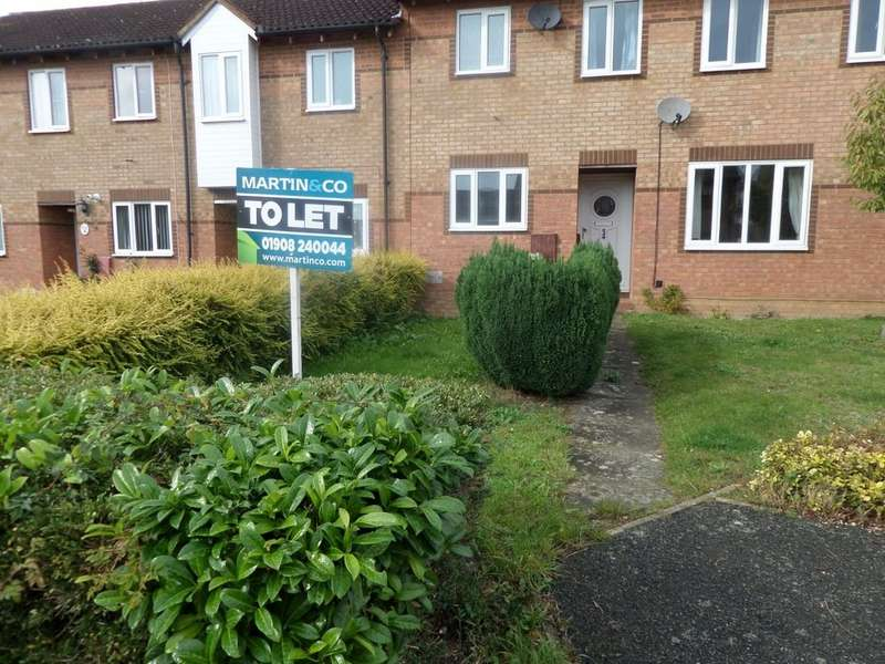 2 Bedrooms Terraced House for rent in Hexham Gardens, Bletchley MK3