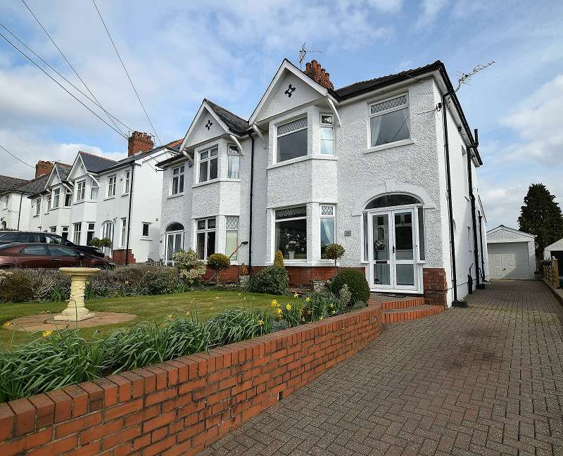 3 Bedrooms Semi Detached House for sale in Wenallt Road, Rhiwbina, Cardiff. CF14 6SE
