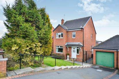 3 Bedrooms Detached House for sale in Oakdale Road, Broadmeadows, South Normanton, Derbyshire