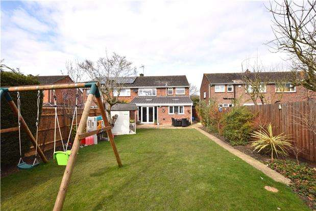 3 Bedrooms Semi Detached House for sale in Miserden Road, CHELTENHAM, Gloucestershire, GL51 6BP