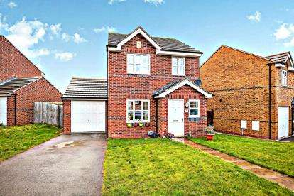 3 Bedrooms Detached House for sale in Proudman Drive, Prenton, Wirral, CH43