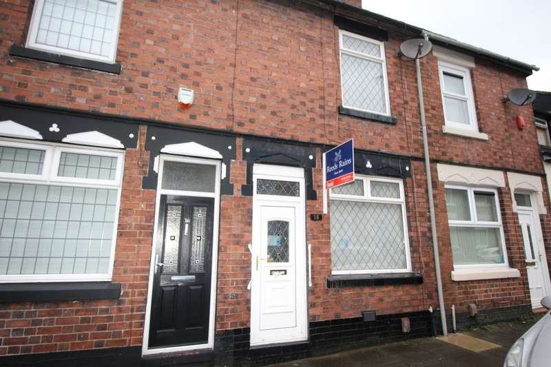 2 Bedrooms Terraced House for sale in May Place, Stoke-On-Trent, ST4