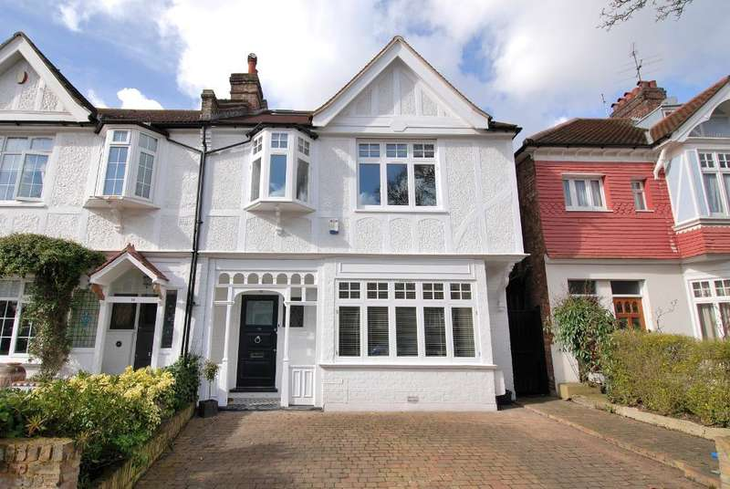 6 Bedrooms Semi Detached House for sale in Lavington Road, Ealing, London, W13 9NN