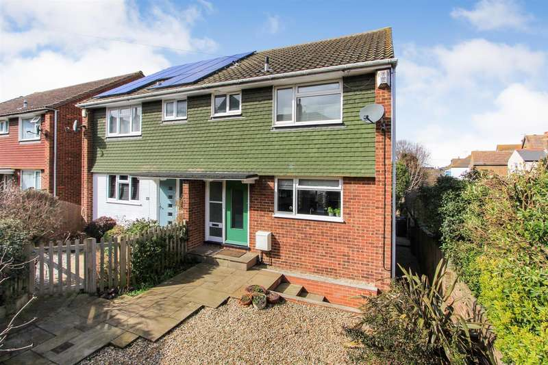 3 Bedrooms Semi Detached House for sale in West Cliff, Whitstable