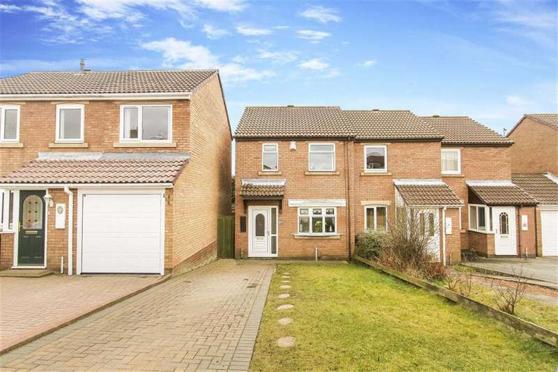 3 Bedrooms Semi Detached House for sale in Hickstead Close, Wallsend, Tyne And Wear