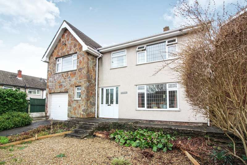 4 Bedrooms Detached House for sale in Mill Crescent, Govilon, Abergavenny, NP7