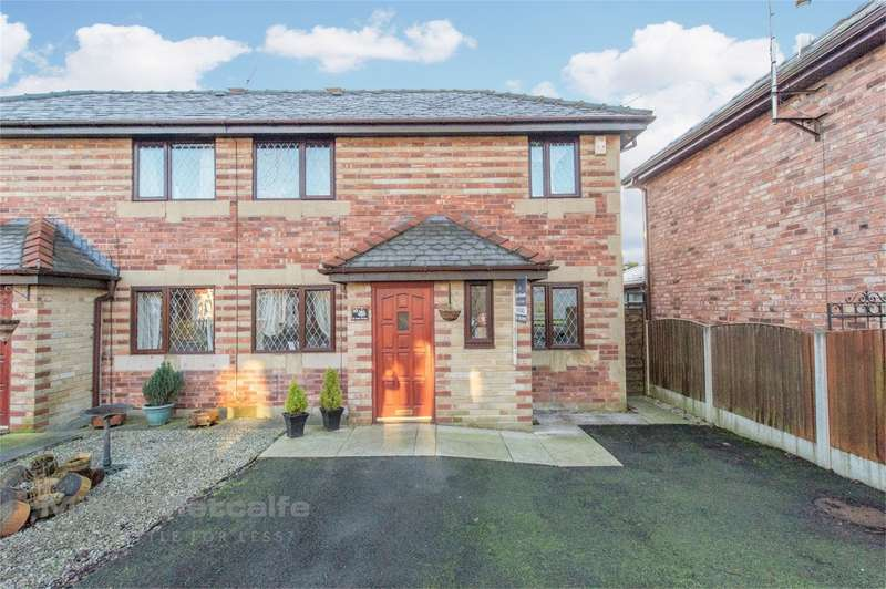 2 Bedrooms Semi Detached House for sale in St James Avenue, Bury, BL8