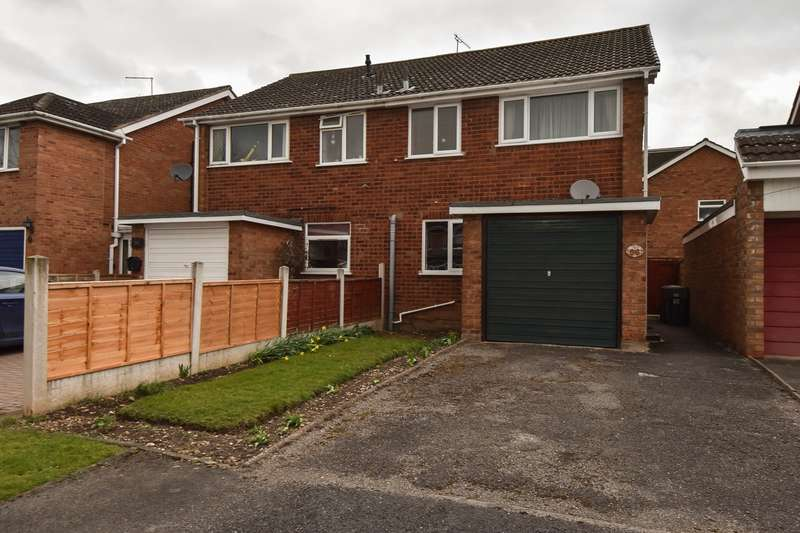 3 Bedrooms Semi Detached House for sale in Cloverdale, Stoke Prior, Bromsgrove, B60
