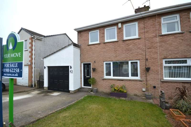 3 Bedrooms Semi Detached House for sale in Brierydale Lane, Stainburn, Workington, CA14