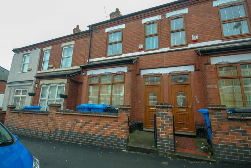 3 Bedrooms Terraced House for sale in Goodale Street, Derby