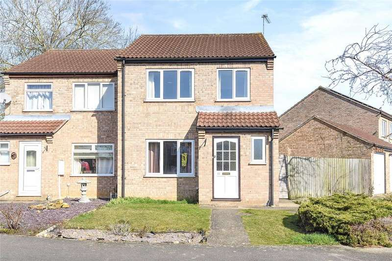 3 Bedrooms Semi Detached House for sale in Hawthorn Drive, Sleaford, NG34