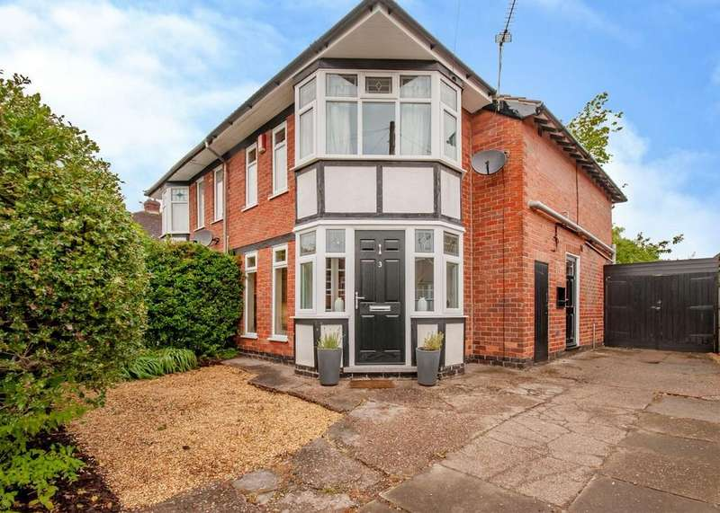 3 Bedrooms Semi Detached House for sale in Lynton Road, Beeston