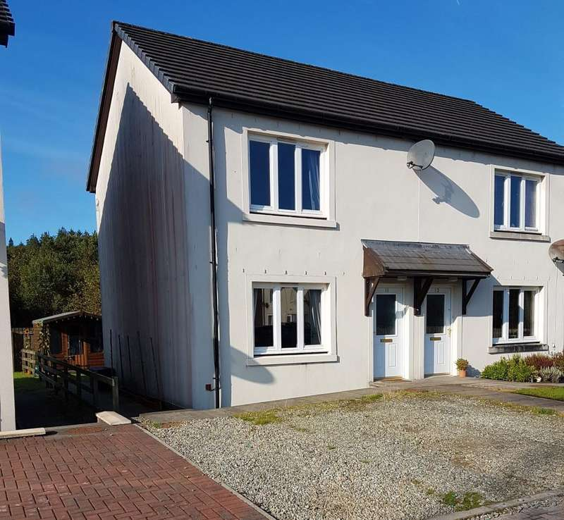 2 Bedrooms Semi Detached House for sale in 11 Cnoc Mor Place, Lochgilphead, PA31 8AH