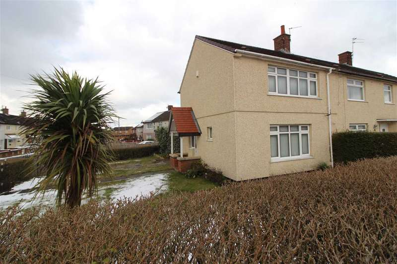 2 Bedrooms End Of Terrace House for sale in Sennen Road, Kirkby