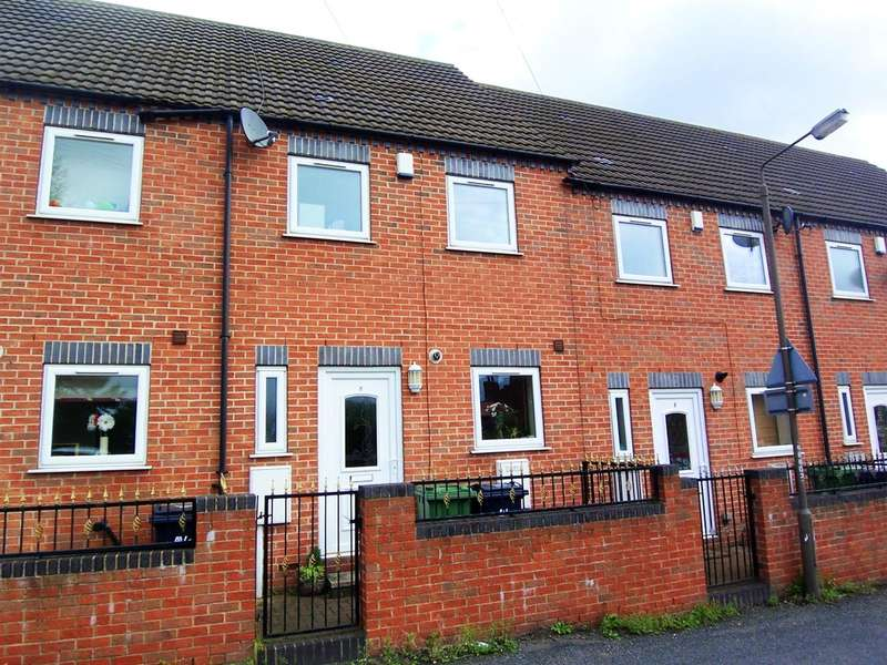 3 Bedrooms Town House for sale in Royal Oak Court, Ripley