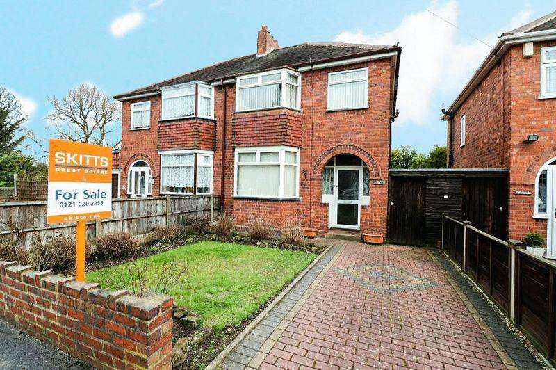 3 Bedrooms Semi Detached House for sale in Bankfield Road, Tipton