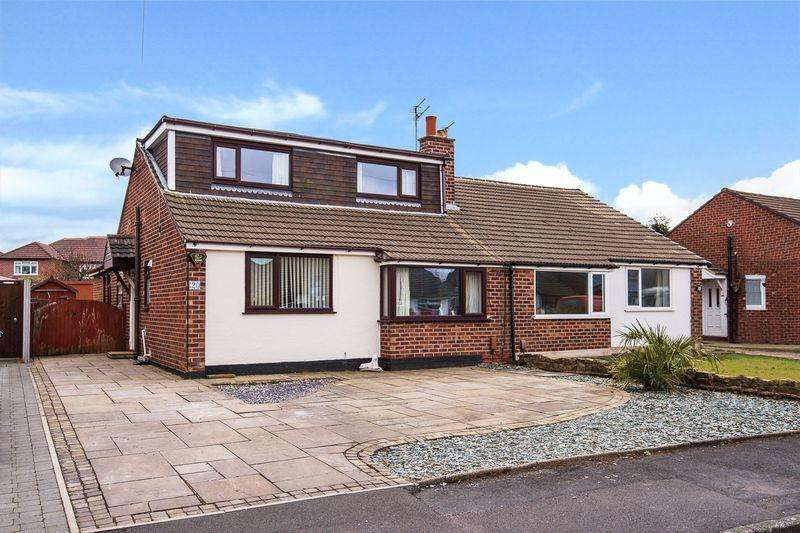 3 Bedrooms Semi Detached House for sale in Prestbury Drive, Warrington